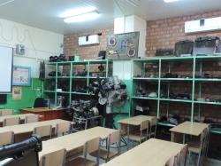 класс по предмету «Устройство и техническое обслуживание ТС»