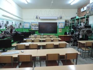 класс по предмету «Устройство и техническое обслуживание ТС» (5)